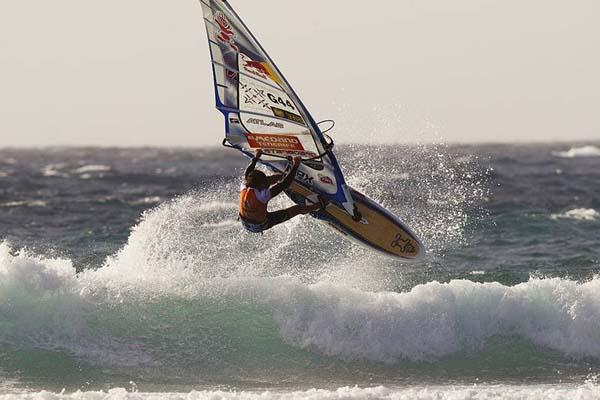 Phillip Köster 2011.  Foto: windsurfers.de