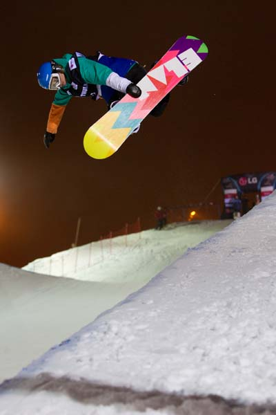 Snowboard FIS Weltcup Ruka 2011.  Foto: FIS/Mike Weyerhaeuser