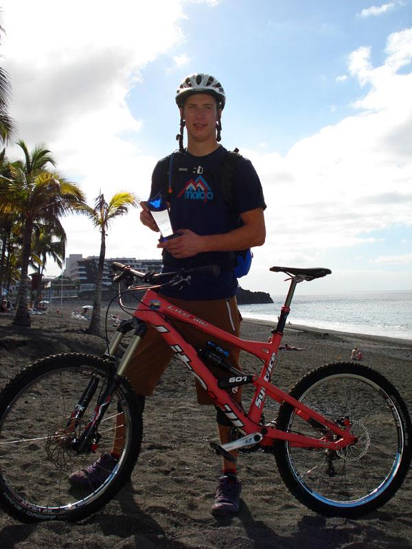 Mountainbiker des Jahres 2011 Jasper Jauch.  Foto: Jasper Jauch