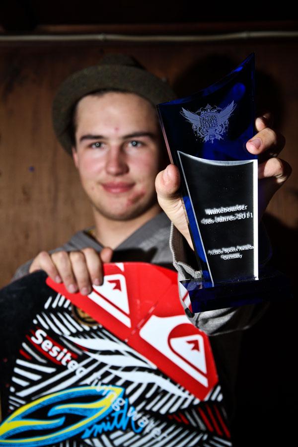 Wakeboarder des Jahres 2011 Felix Georgii.  Foto: Felix Georgii