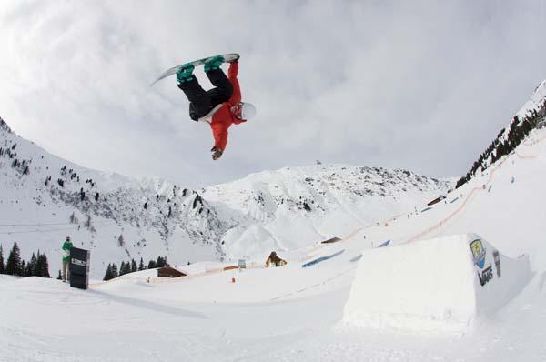Groms Open Mayrhofen 2012.  Foto: Christian