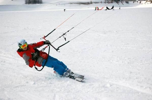 Snowkite Worldcup.  Foto: Foto: Brand Guides GmbH Co KG/Stefan Kuna-Wagenhuber