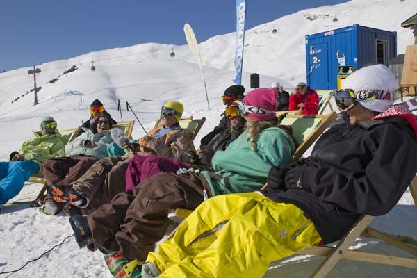 Skullcandy Snowballwar 2012.  Foto: www.diedamspark.at