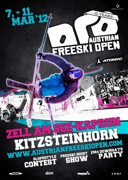 Austrian Freeski Open 2012.  Foto: www.austrianfreeskiopen.com