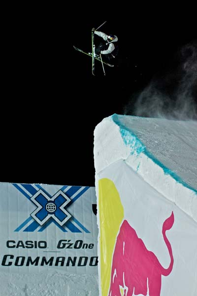 X Games Big Air 2012.  Foto: Fabian Weber