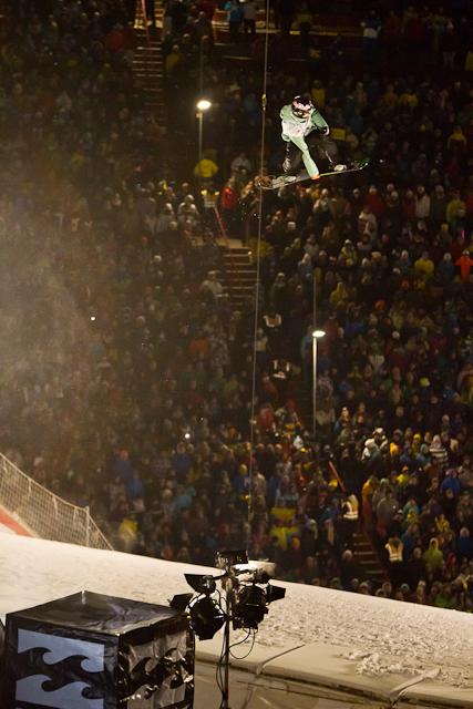 Seppe Smits, Zweiter beim Air&Stye 2012 in Innsbruck.  Foto: Air&Style