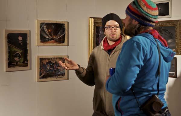 Art on Snow Gastein 2012.  Foto: Stefan Eigner