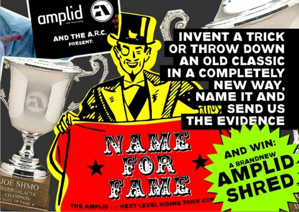 Name For Fame Trick Contest 2012.