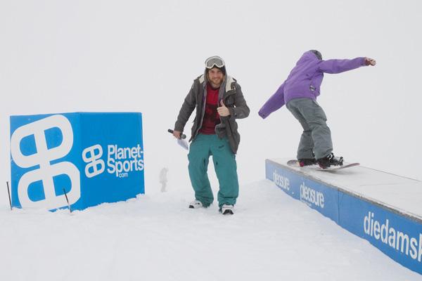 Skullcandy Snowballwar 2012.  Foto: Sebi Madlener/QParks