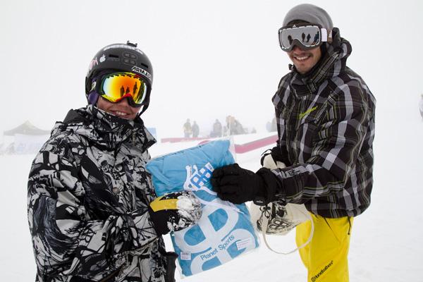 Skullcandy Snowballwar 2012.  Foto: Foto: Sebi Madlener/QParks