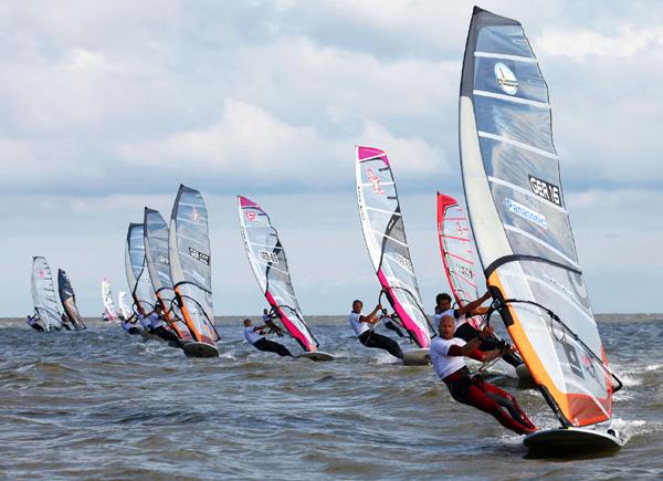 Deutscher Windsurf Cup 2012.  Foto:  www.windsurfcup.de