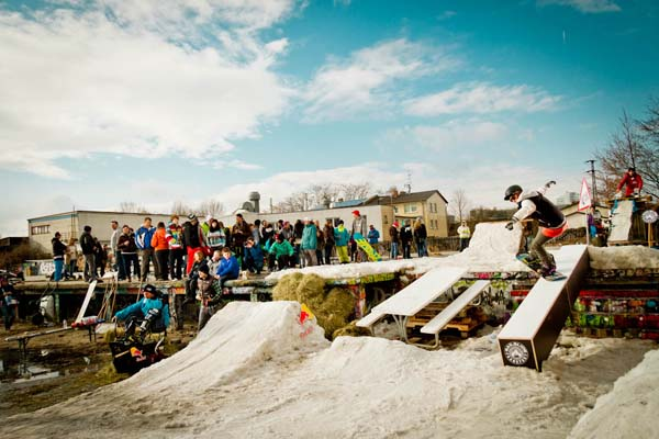 Red Bull Winch Dir Was Tour 2012 Frankfurt & Gießen.  Foto: Red Bull Content Pool