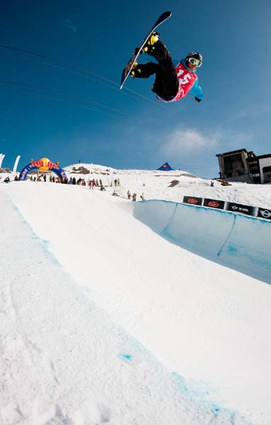 Deutsche Snowboard Halfpipe Meisterschaft 2012.  www.redbull.de