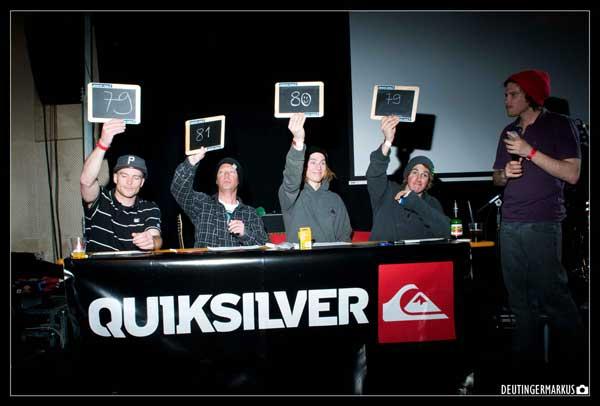 Quiksilver Spring Battle 2012 Flachauwinkl.  Foto: www.absolutpark.com