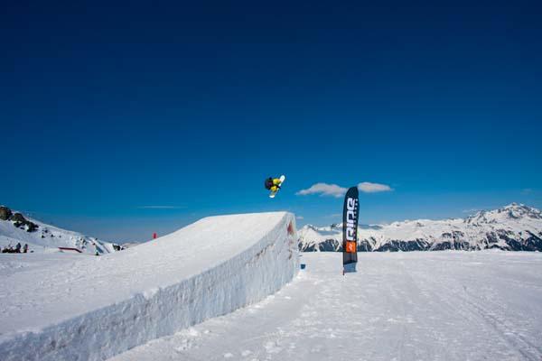 Wir Schanzen 2012 Saja Park Games.  Foto: Luis Trautmann