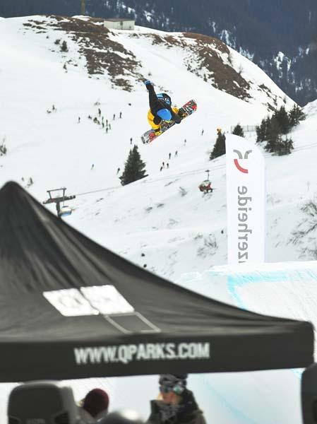 Freestyle Madness Lenzerheide 2012.  Foto: Martin Rittmeyer/QParks