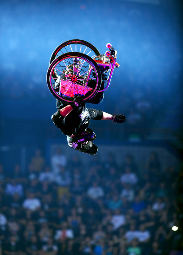 Nitro Circus Live 2012.  Foto: www.nitrocircuslive.com