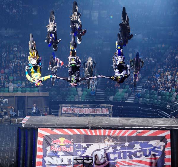 Nitro Circus Live 2012.  Foto: www.nitrocircuslive.com