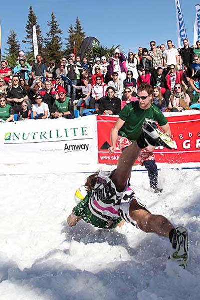 Snow Volleyball Tour 2012.  Foto: www.snowvolleyball.at