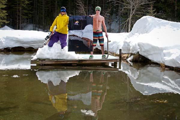 Burn Snowpark Rally 2012.  Foto: Martin Fabian, Christian Fessl, Michael Hörschläger