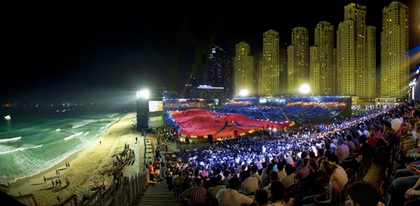 X-Fighters World Tour Dubai 2012.  Foto: Predrag Vuckovic/Red Bull Content Pool