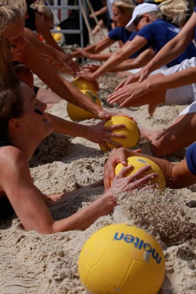 Dodgeball Beach-Cup Stadtlohn 2012.  Foto: www.dodgeball-beachcup.de