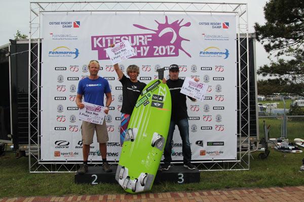 Sieger der Kitesurf Trophy in Glückburg Foto : Kitesurf Trophy