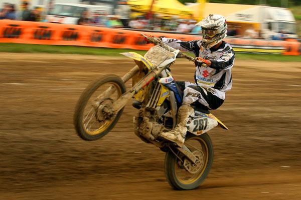 Rider: Marcus Schiffer Foto: Steve Bauerschmidt.