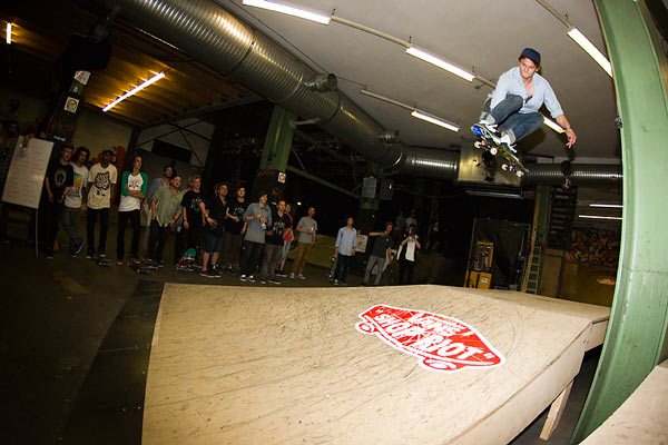 Skater: Pascal Reif Foto: Skaters Palace Münster.