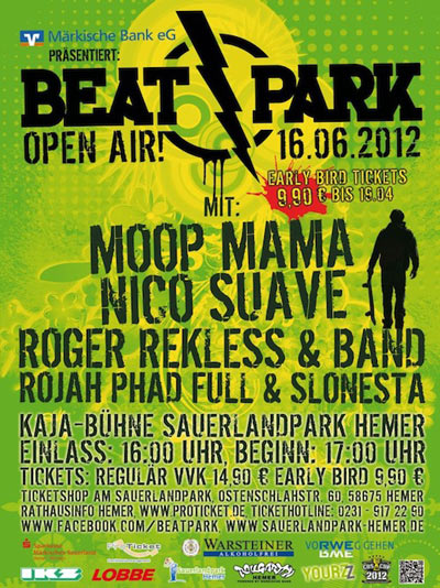 Beatpark Open Air Flyer Beatpark Open Air.