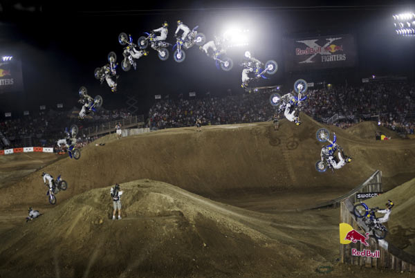 Red Bull X-Fighter Foto: Red Bull.