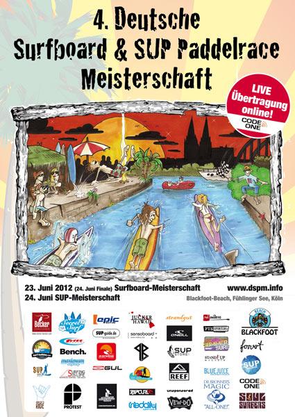 Deutsche Surfboard und SUP Paddelrace Meisterschaft 2012 Foto: Deutsche Surfboard und SUP Paddelrace Meisterschaft 2012.