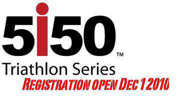 Logo Fto: 5150 Triathlon Serie.