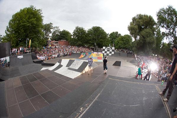 Vorschau auf die BMX Worlds 2012.  Foto: Chris van Hanja