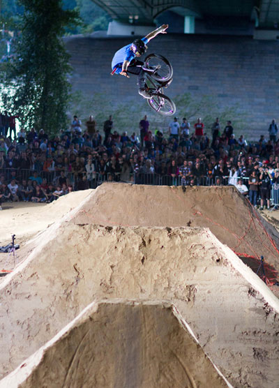 Vorschau auf die BMX Worlds 2012: Janek Wentzky.  Foto: Chris van Hanja