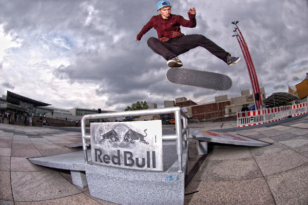 Shane O�Neill beim Red bull Bomb the Line 2012 in Berlin.  Foto: Helge Tscharn