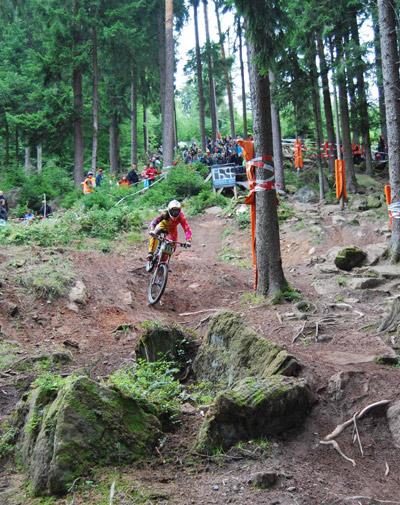 Vorschau auf den iXS German Downhill Cup 2012 in Bad Wildbad.  Foto: Veranstalter