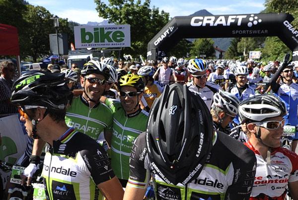 Vorschau auf die Craft Bike Transalp 2012.  Foto: Craft Bike Transalp