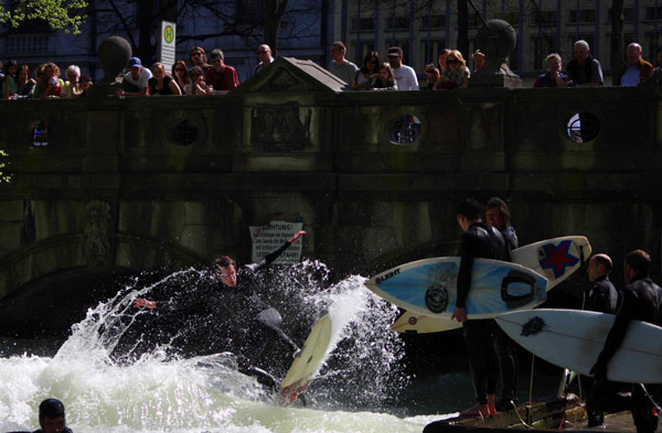 Vorschau auf das Surf & Skate Festival 2012 in München.  Foto: Bjoern Richie Lob