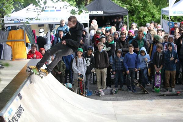 Vorschau auf das Surf & Skate Festival 2012 in München.  Foto: Harkort Fuchs