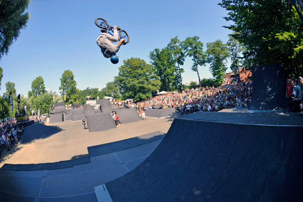 Ben Wallace bei den BMX WORLDS 2012 in Köln.  Foto: Martin Ohliger