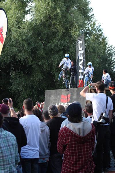 BMX WORLDS 2012 in Köln.  Foto: Mirko Wakat