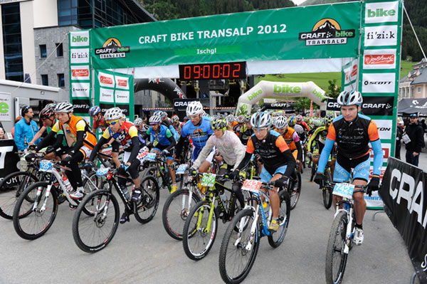 Transalp 2012.  Foto: Craft Bike Transalp/Peter Musch