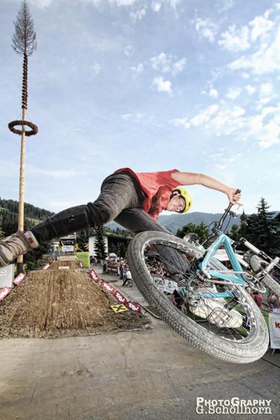 Dominic Amberger beim FMB World Tour Bronze Event 2012 Westendorf/ Kitzbühel.  Foto: Goofy Schöllhorn