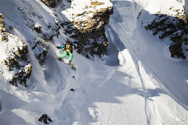 Swatch Freeride World Tour by The North Face 2013.
