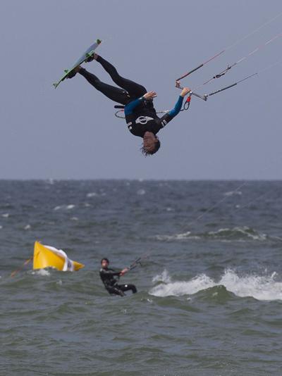 Vorschau auf die Kitesurf Trophy 2012 auf Fehmarn.  Foto: reemedia/reemedia