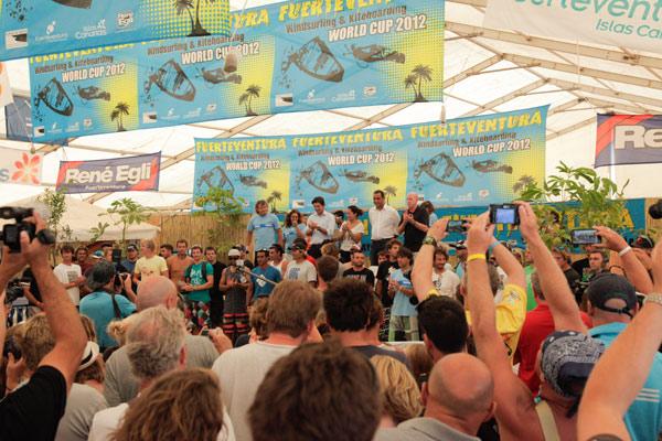 Fuerteventura World Cup 2012.  Foto: Veranstalter