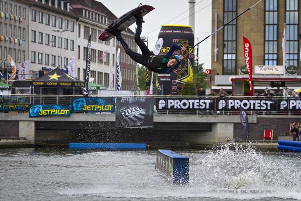 Vorschau auf die Wake Masters 2012 in München.  Foto: Brand Guides/Benjamin Wiedenhofer
