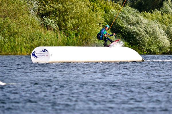 Deutsche Meisterschaft Wakeboard 2012 in Salzgitter.  Foto: Christian Denker