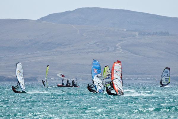Finale beim Slalom Grand Slam auf Fuerteventura.  Foto: Veranstalter